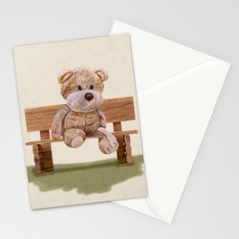 Cuddly At The Park Stationery Cards