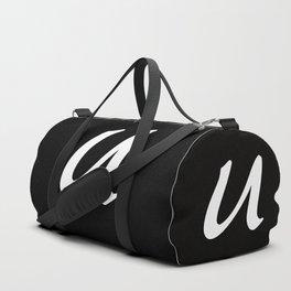 ALPHABET ....U Duffle Bag