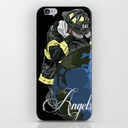 Angels of the earth iPhone Skin