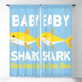 Baby Shark Blackout Curtain