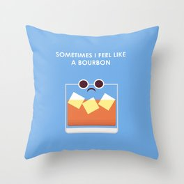 Feel like a Burden  Throw Pillow