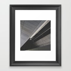 Footpath below Framed Art Print