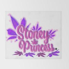Stoney Princess Throw Blanket