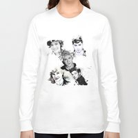1d Long Sleeve T-shirts featuring 1D Splat by D77 The DigArtisT