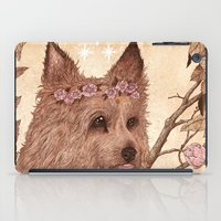 yorkie iPad Cases featuring Yorkie by Angela Rizza