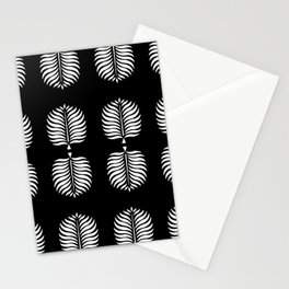 TROPICAL PALMS . BLACK + WHITE Stationery Cards
