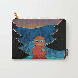 Robo' snowman Carry-All Pouch