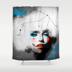 Zero City Shower Curtain