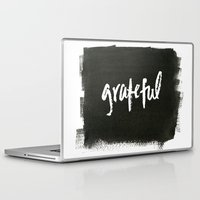 grateful dead Laptop & iPad Skins featuring grateful by Social Proper
