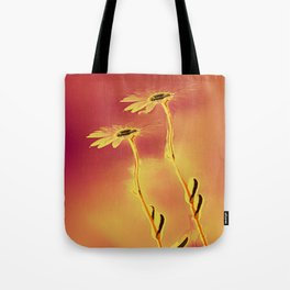 Two Daisies Tote Bag