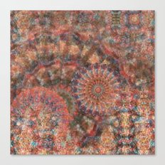 Faceted Wheels Canvas Print