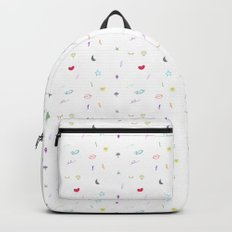 Hipster World - In Colors Backpack