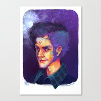potter Canvas Prints featuring Potter! by Maddy