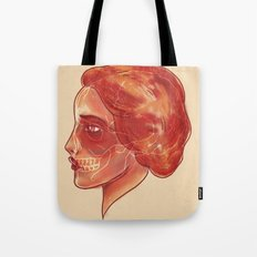 Woman (profile) Tote Bag