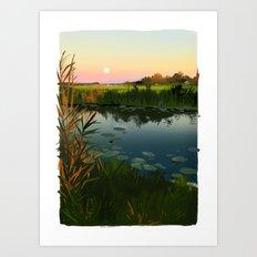 polder Art Print