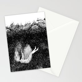 The Stars Beneath the Waves Stationery Cards
