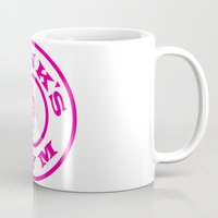 gym Mugs featuring Ronk's Gym by FlipShark
