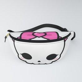 Cute Kawaii Skull  Fanny Pack