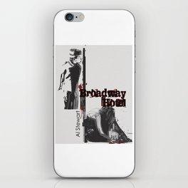 Broadway Hotel - A Tribute to Al Stewart iPhone Skin