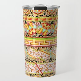 Gypsy Caravan Luxe Stripe Travel Mug