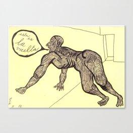 """2004-11-12, """"esta es la vuelta"""" Canvas Print"""