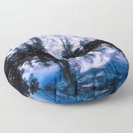 Mt. Rainier Floor Pillow