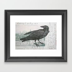 Raven of Marburg Framed Art Print