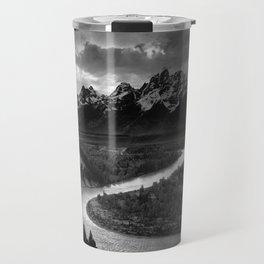 Ansel Adams The Tetons and the Snake River Travel Mug
