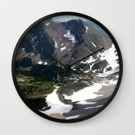 Buller Ridge Wall Clock