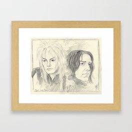 Magick Lives Forever Framed Art Print