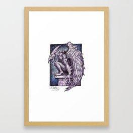 Grimshaw Gargoyle Framed Art Print
