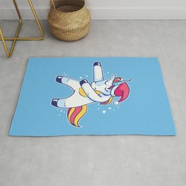 Christmas Unicorn Floss Rug