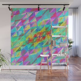 MULTICOLORED HAPPY CHAOS Wall Mural