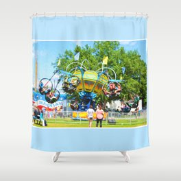 County Fair Shower Curtain