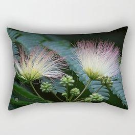 Mimosa Blossoms Rectangular Pillow