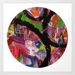 Whirl Abstract Art Art Print
