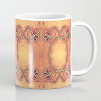 ashton irwin Mugs featuring Ebola Tapestry-2 by Alhan Irwin by Microbioart
