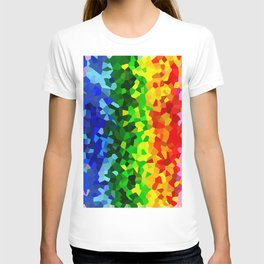 Rainbow Moon Love T-shirt