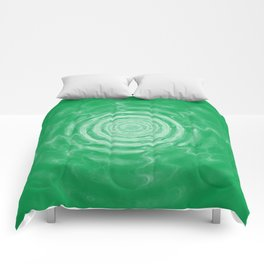 Ripples_Green Comforters