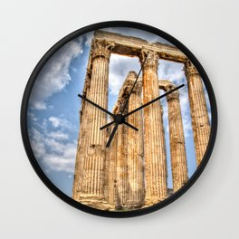 Temple of Zues Wall Clock