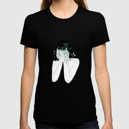 A little bit dissapointed in humanity / Illustration T-shirt