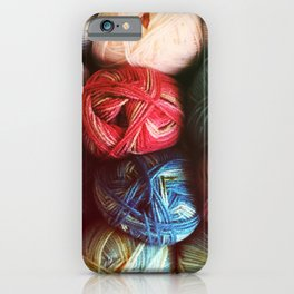 Balls of Yarn iPhone Case