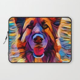 German Shepherd 8 Laptop Sleeve