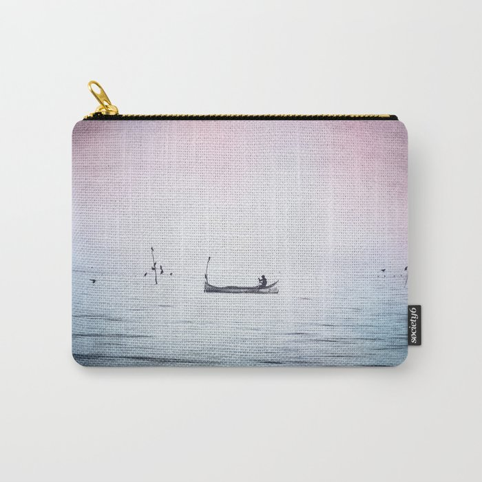 The Lonely Man and The Infinite Sea Color Version Carry-All Pouch