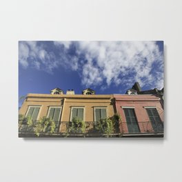 New Orleans French Quarter Sky Metal Print