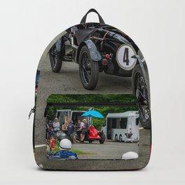 Classic Car Race Start Backpack