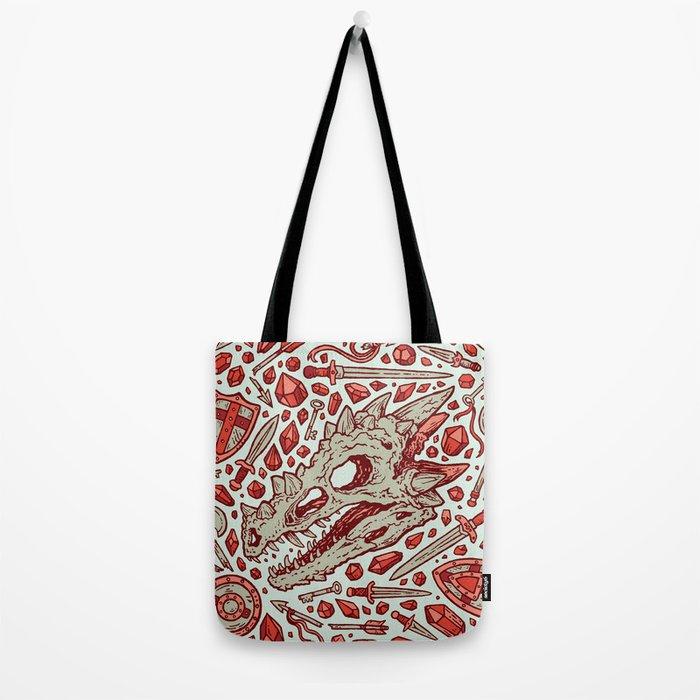 Hoard of the Gem Dragon   Ruby Tote Bag