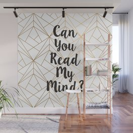 Read My Mind Wall Mural