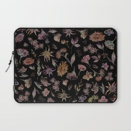 Botanical Study- Dark Colorway Laptop Sleeve