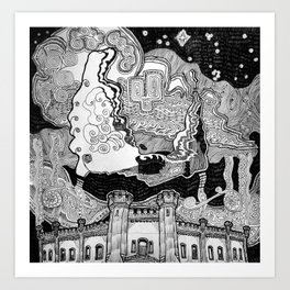 Dublin Castle, former British Columbia Penitentiary Art Print
